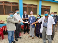 Extending support and assistance to District Hospital Management Committee, Khandbari, Sankhuwasabha to the tune of NPR 10.5 million.